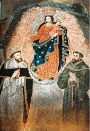 Our Lady of Las Lajas miraculous image